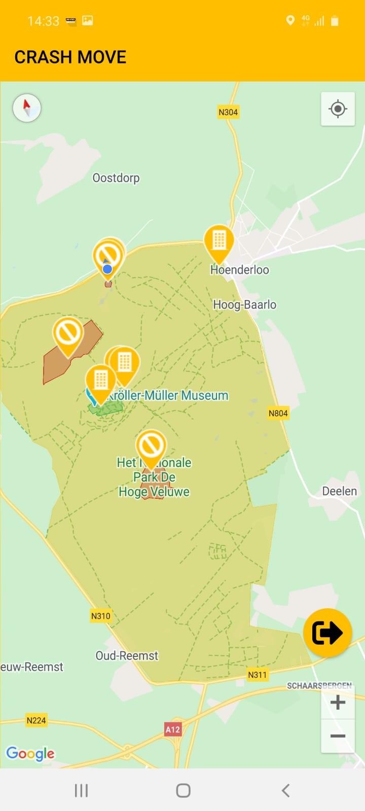 PDHV plattegrond